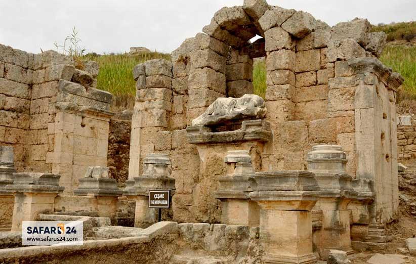 شهرهای باستانی آنتالیا