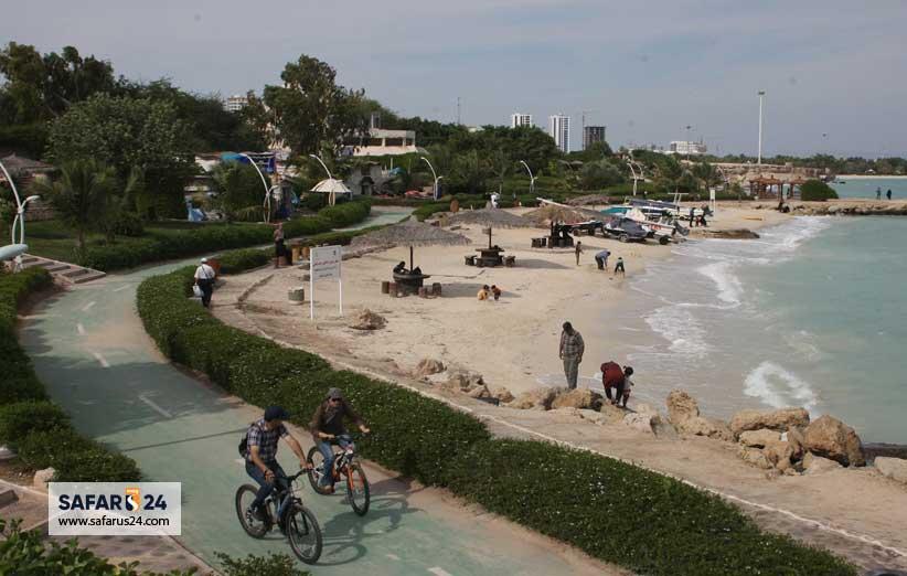 پارک های ساحلی کیش