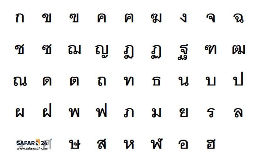 زبان تایلند