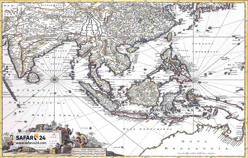 جغرافیا و تاریخ اندونزی
