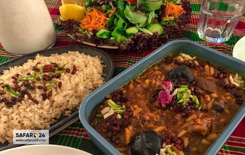 غذا در کرمانشاه