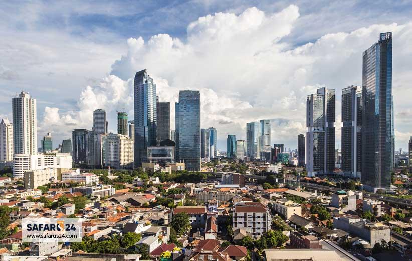 جاکارتا پایتخت اندونزی