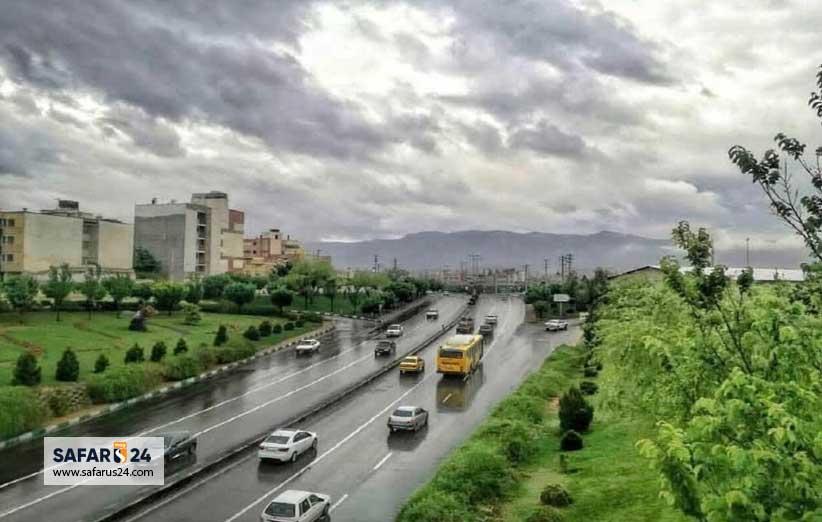 آب هوای شیراز