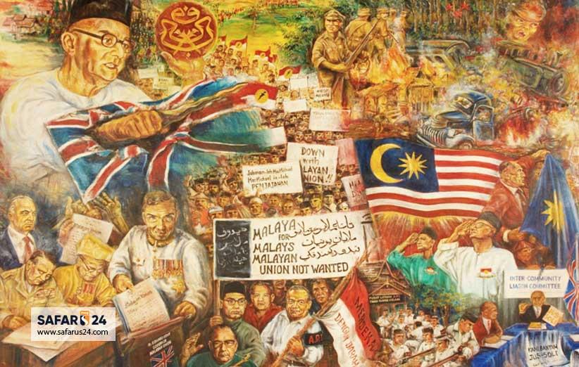 تحولات تاریخی مالزی