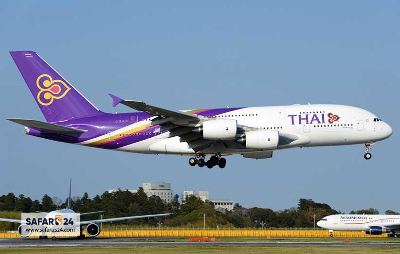 بلیط هواپیما تایلند