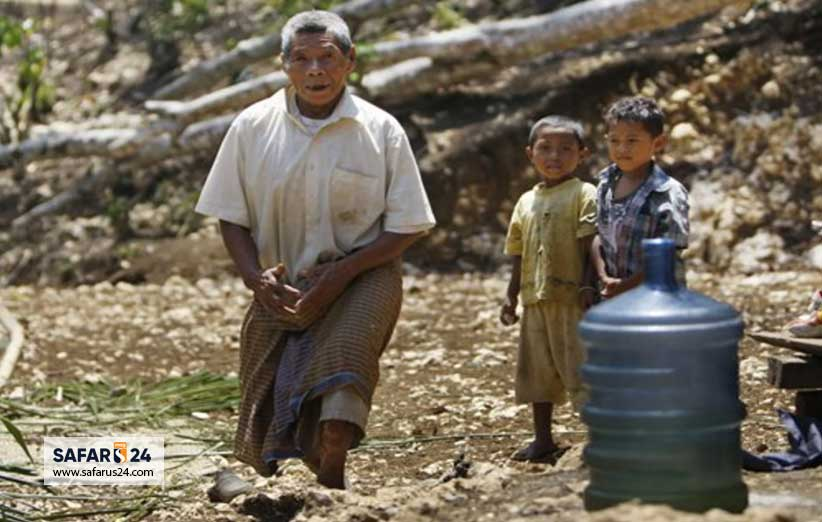 هابیت های کوتوله در جمعیت اندونزی