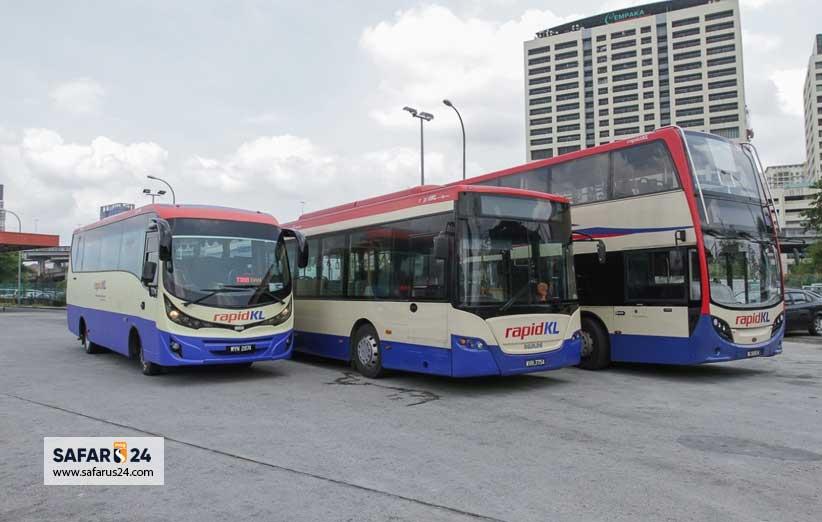 بلیط اتوبوس کوالالامپور