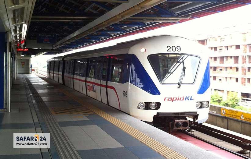 حمل و نقل برای مردم کوالالامپور