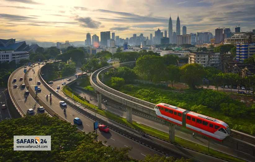 رتبه مالزی در دنیای گردشگری