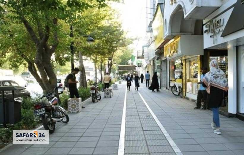 خیابان سعدی مشهد