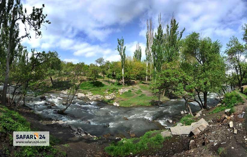 طبیعت پارک وکیل آباد مشهد