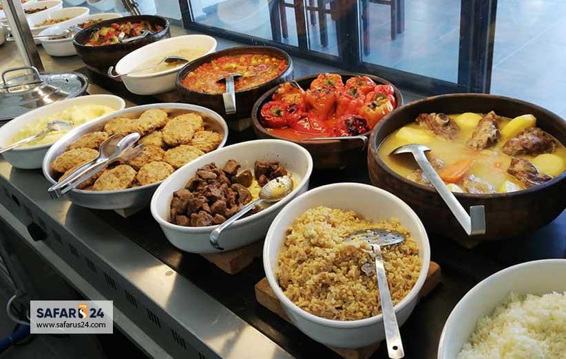 غذاهای شهر بدروم ترکیه