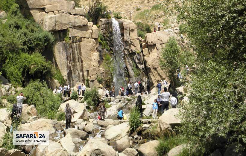 آبشار گنج نامه همدان