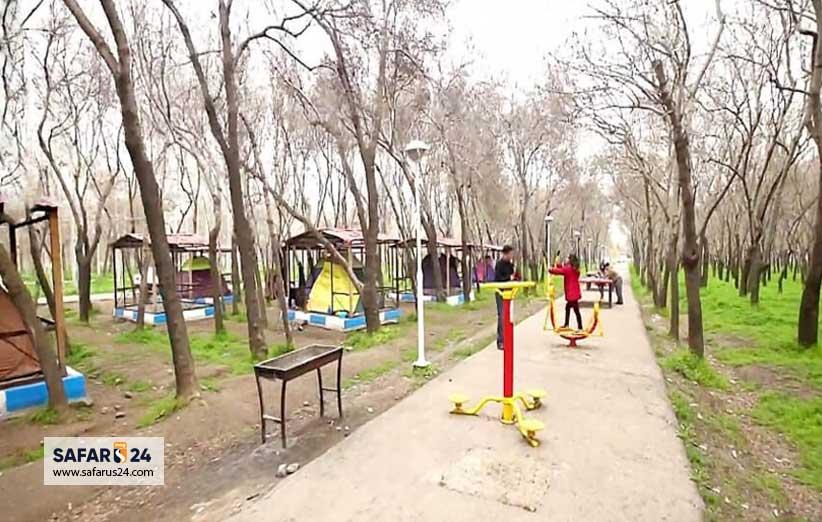 امکانات پارک جنگلی طرق مشهد