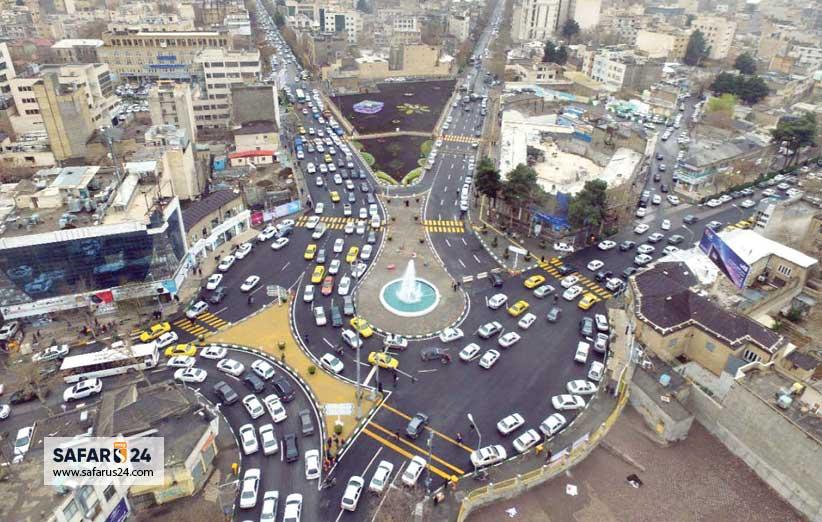 مغازه های خیابان سعدی مشهد