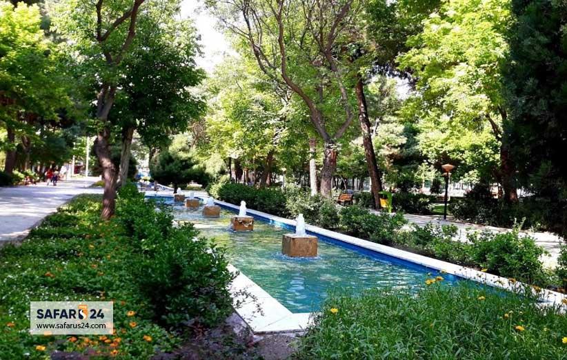 پارک میرزا کوچک خان جنگلی مشهد مقدس