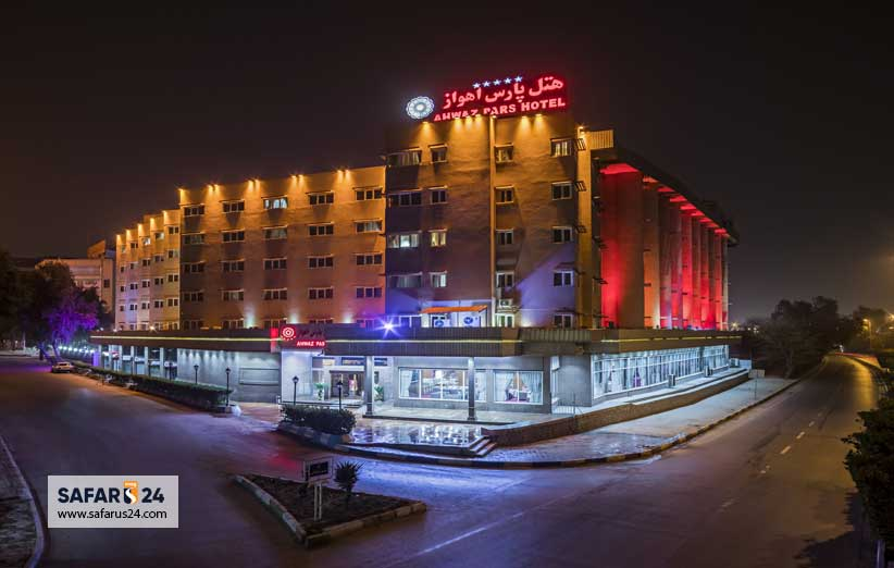 اقامتگاه و هتل در شهر اهواز