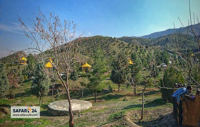 امکانات پارک کوهستانی خورشید مشهد