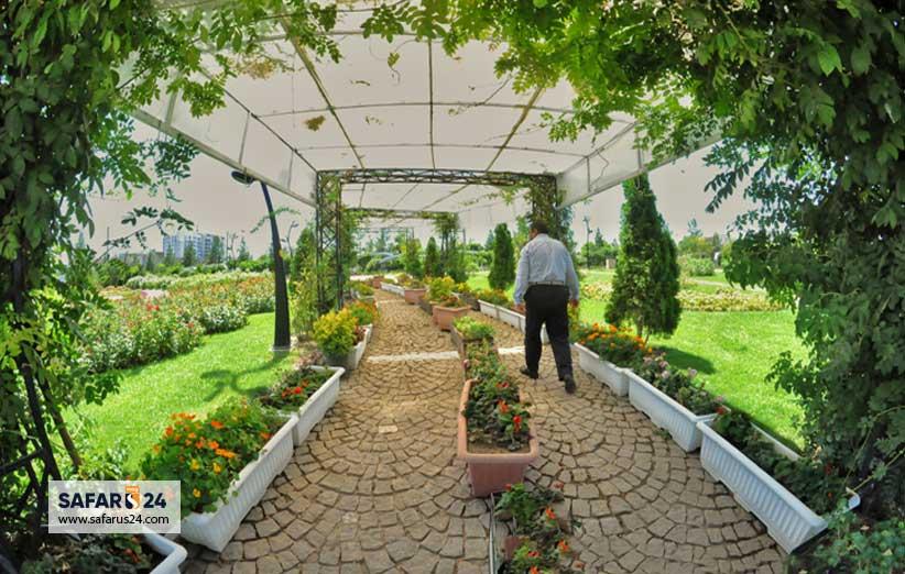 قیمت ورودی باغ گلها مشهد
