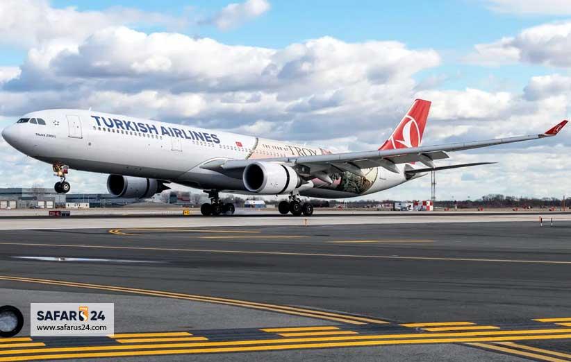 بلیط هواپیما ترکیه