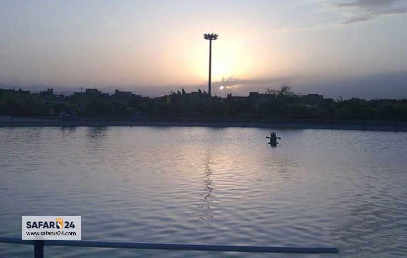 دریاچه پارک ارم مشهد
