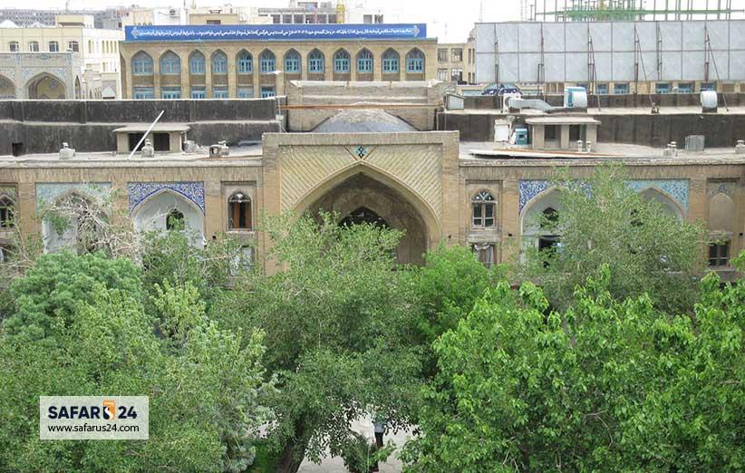 بازار عباسقلی خان در مشهد