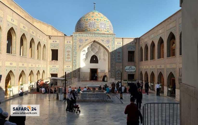آدرس مقبره پیر پالان دوز در مشهد
