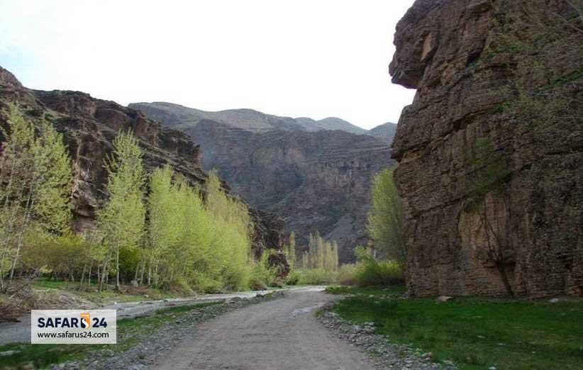 آبشار دره آل کجاست