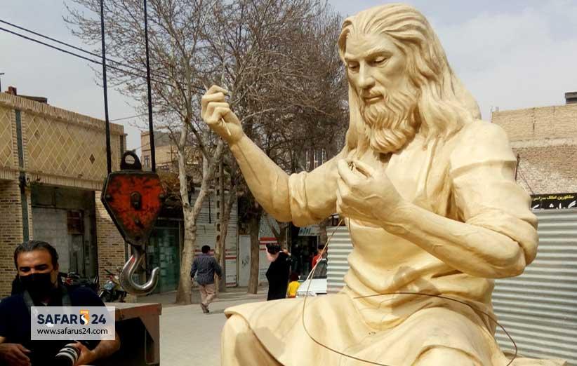 مجسمه پیر پالاندوز