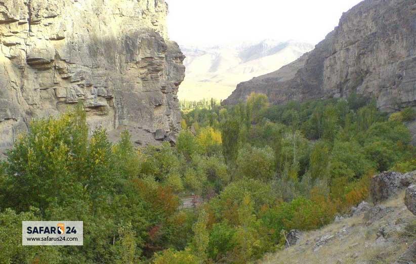 آبشار دره آل اطراف مشهد