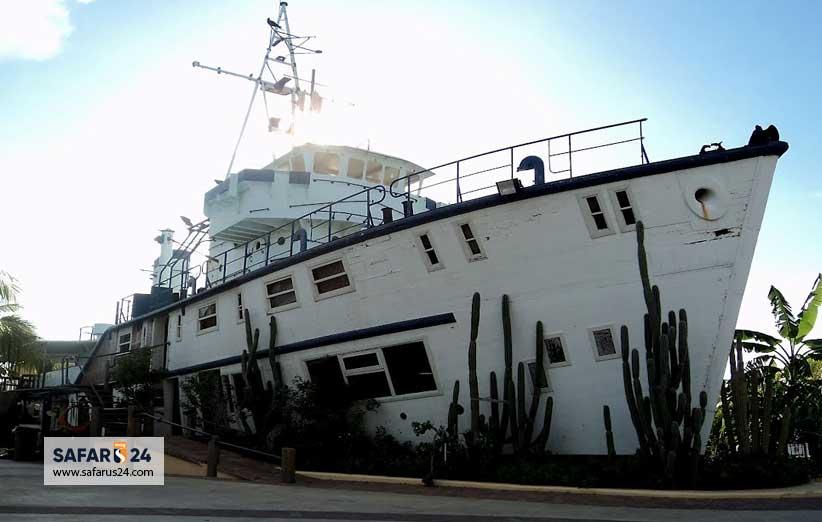 کشتی آکواریوم بزرگ