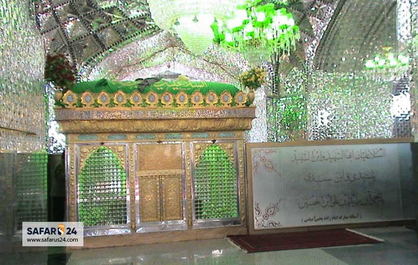 امامزاده یحیی مشهد میامی