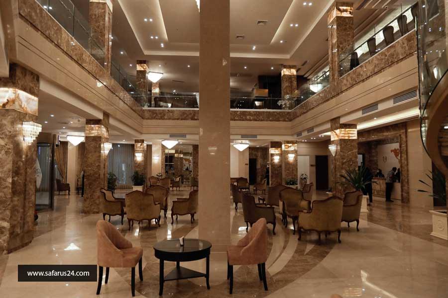 رزرو تور کیش از شیراز هتل آرامیس پلاس