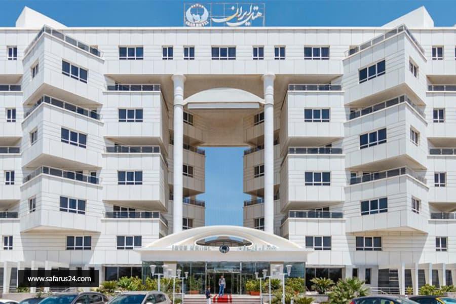 تور کیش از ساری هتل ایران