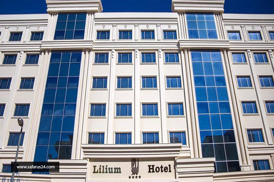 تور کیش از اصفهان هتل لیلیوم