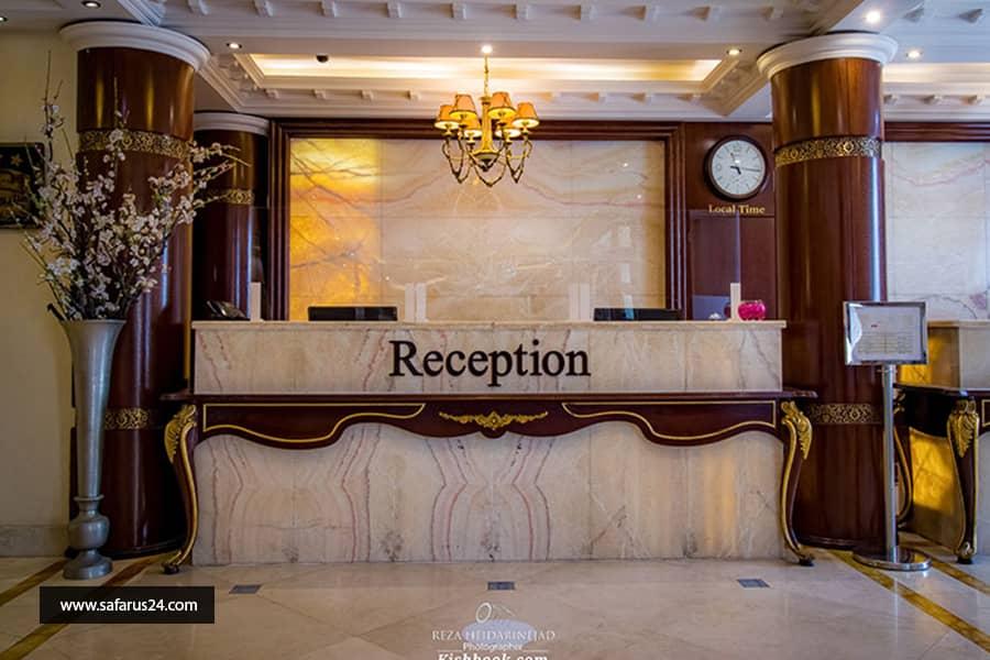 تور کیش از اصفهان هتل سورینت مریم