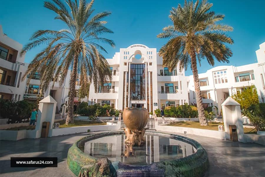 تور کیش از تبریز هتل پارسیان