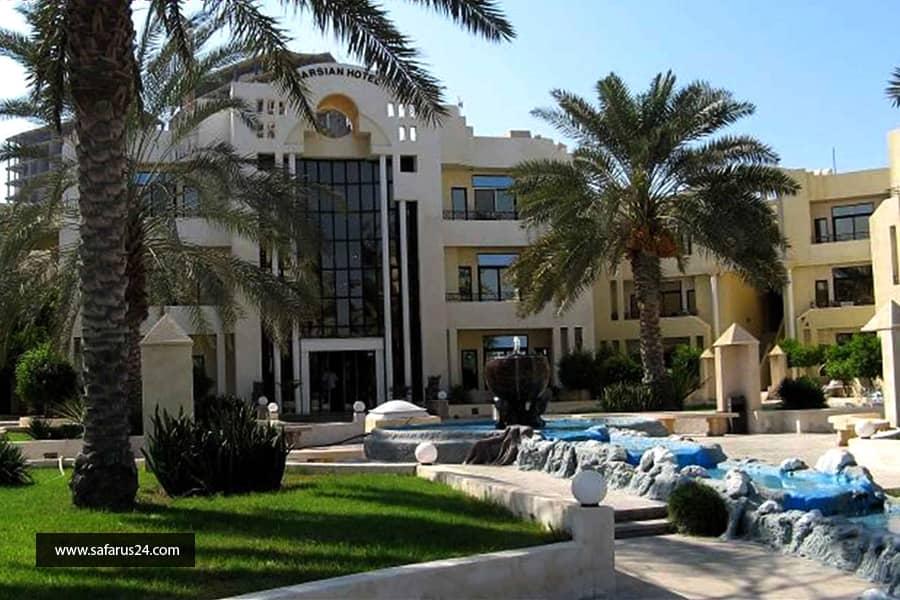 تور کیش از تهران هتل پارسیان