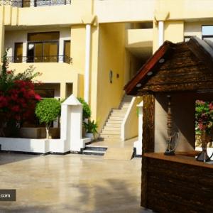 محوطه هتل پارسیان کیش