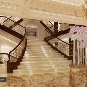 محوطه هتل سورینت مریم کیش