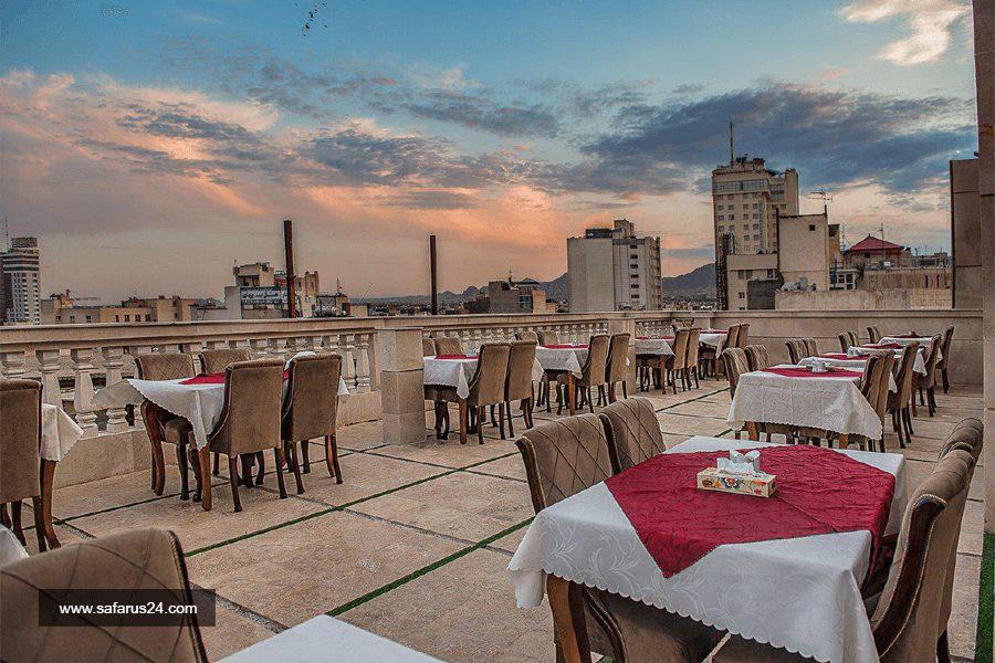 کافی شاپ هتل نسیم مشهد