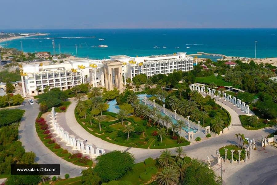 تور کیش از تبریز هتل داریوش
