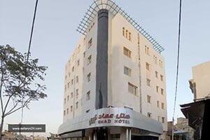 نمای هتل عماد مشهد