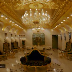 لابی هتل رز درویشی مشهد