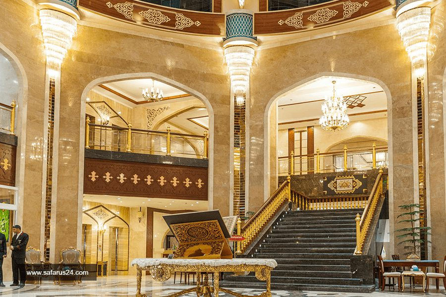 لابی هتل مدینه الرضا مشهد