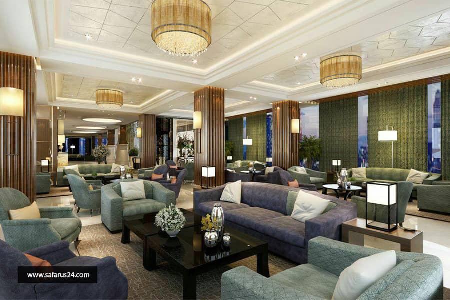 تور کیش از تهران هتل کورو