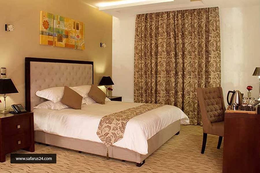 اتاق های هتل در تور کیش از تهران هتل سورینت مریم