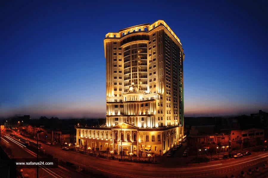 نما هتل قصر طلایی مشهد