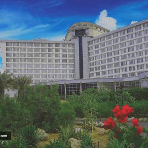 نمای هتل بین المللی کیش