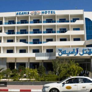 نمای هتل آرامیس کیش